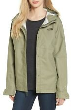 Womens The North Face Jacket Berrien Waterproof Hooded Lichen Green M DEFECT