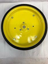 Fits John Deere CT HO39 Rubber/Steel Idler Wheel W Shaft & Bearing