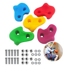 Us Kids Rock Stone Wall Grab Hand Climbing Holds Grip Resin Bolt Indoor Outdoor