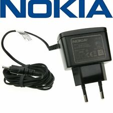 Genuine NOKIA EU Charger AC-8E for ALL NOKIAS with Small 2mm Pin Socket NEW