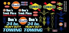 Don's 24hr Heavy Duty Towing Wrecker 1/32nd Scale Slot Car Decals black body