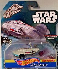 Hot Wheels 2016 Star Wars CARSHIPS MILLENNIUM FALCON LOT of 10  DVP25
