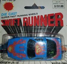 SWIFT RUNNER 80's PONTIAC FIREBIRD TRANS AM #11 Blue w Yellow/Orange/Red Flames