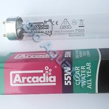 Arcadia 55w UVC T8 Ultra Violet Bulb Tube Lamp Koi Fish Pond 55 Watt UV FG55