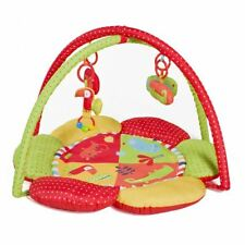 Red Kite Safari Activity Play Gym Mat With Removable Arch 4 Hanging Toys