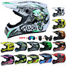 Off-Road Motorcycle Helmet Cross Helmet Quad ATV Helmet with Visor S-XL