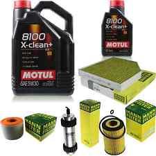 MOTUL 6 L 5W-30 MOTOR-ÖL+MANN-FILTER Audi A6 4G2 C7 4GC 2.0 TDI Avant 4G5 4GD
