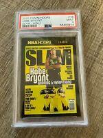 2020-2021 NBA Hoops Kobe Bryant slam gold holo PSA 9 POP 1!