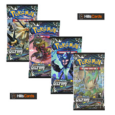 Pokemon Sun & Moon Ultra Prism 4 Sealed Booster Packs: SM-5 TCG Cards