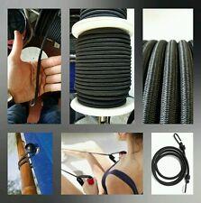 Corde tressée cordage elastique 4mm ( por mètres ) auvents poulpe s'étire