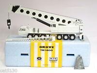 """Grove TM1400 Crane - """"WHITE"""" - 1/55 - NZG #152 - MIB"""