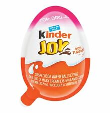 Kinder JOY Surprise Eggs Ferrero Choclate Balls Best Gift Toys For Girls X 8