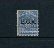 "British Central Africa 1891 - 6d Ultrmarine, Ovrpt ""BCA"" - SC 4 [SG 4] MINT 20"