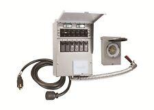New Reliance 306crk Pro Tran 2 Generator Power Transfer Switch Kit 6 Circuit