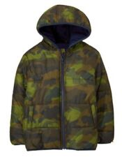 NWT GYMBOREE EPIC DIG BOYs Camouflage Camo WINTER PUFFER COAT HOODED M 7 8