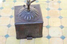 Ancien moulin à café modèle tabatière, en tôle, Japy???