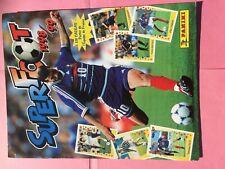 ALBUM PANINI FOOTBALL SUPER FOOT 1998/99 EN  BON ETAT & QUASI COMPLET (-1)