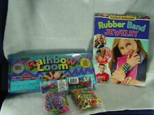 Rainbow Loom HUGE Lot Case Multiple Thousands of Bands BOOK Two Kits++