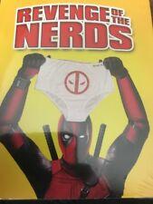 Revenge Of The Nerds (Blu-Ray) Deadpool Photobomb Slipcover NEW