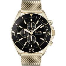 HUGO BOSS HB1513703 Ocean Edition Gold Tone Men's Watch -SAME DAY DISPATCH £350