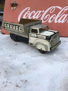 marx 1960s sand and gravel dumptruck