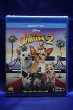 Walt Disney Beverly Hills Chihuahua 2 (Blu-ray/DVD, 2011, 2-Disc Set)  Dog   NEW