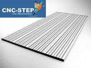 T-Nutentisch aus Aluminium Nutenplatte für High-Z S-1000 CNC Portalfräse