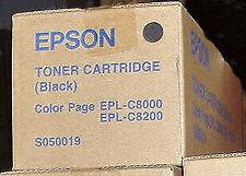 EPSON S050019 TONER NERO epl-c8000 C8200 Freepost