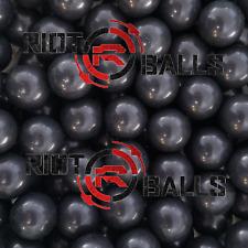 Glass Breaking Balls Paintball .68 cal Paintballs 500 rounds balls Black