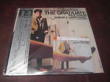 SIMON & GARFUNKEL THE GRADUATE JAPAN OBI Replica CD + JAPAN 25AP1365 VINYL SET
