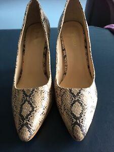 Fiorelli Women's High Heel Shoes Size 8. Snakeskin Print   Versatile Shoe