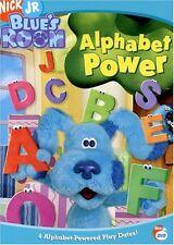 BLUE'S CLUES: BLUE'S ROOM - ALPHABET POWER - DVD - Region 1 - Sealed