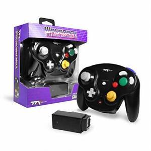 New TTX Tech WAVEDASH Wireless Controller for Nintendo GameCube or Wii - BLACK