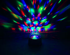 Childrens Party Lights Rotating Multi Coloured Battery Disco Ball Christmas