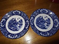 OLDE ALTON WARE  TWO SAUCERS British