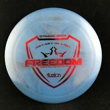 Dynamic Discs Fuzion Freedom Driver Disc Golf Disc 175g