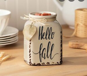 """SCENTSY - Fall Is Calling Warmer -""""HELLO FALL"""" 🍁 NEW harvest collection"""