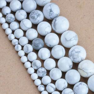 4mm 6mm 8mm 10mm 12mm Natural Quartz Gemstone Round Spacer Stone Loose Beads DIY