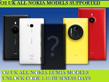 O2 UK UNLOCK CODE NOKIA LUMIA 550 640 720 735 920 520 510 610 625 NOKIA 3.1 3310