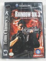 Nintendo Gamecube Rainbow Six 3 2004 Made in the USA Rated M Booklet 2 Player