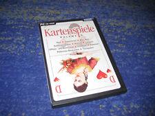 Kartenspiele Volume 4 Skat Schafkopf Doppelkopf usw. DEUTSCH Patiencen-Baukasten