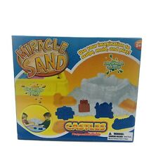 Miracle Sand Castles 7 Designs Build Mold Create Indoor Activity Kids Crafts NEW