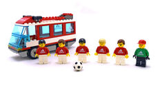 LEGO Sports Soccer Set 3426 Team Transport Bus Adidas Edition - New - No Box -