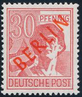 BERLIN 1949, MiNr. 28 II, tadellos postfrisch, gepr. Schlegel, Mi. 350,-