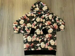 Supreme Floral Hooded Sweatshirt hoodie sz XL