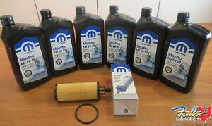 2014-2020 Ram Promaster 3.6L 6Qts. Mopar MaxPro 5w20 Oil & Filter Change Kit OEM