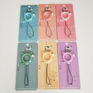 Kawaii Cat Ear Ring Straps for Tamagatchi On Tamagotchi Meets M!X IDL PS Phone