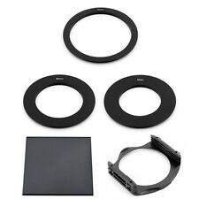 55/58/72MM ADAPTER RINGS + FULL ND8 FILTER + P-HOLDER FOR COKIN P SERIES System