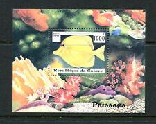 Guinée #1409 Poisson Marine 1997 Feuille - MNH-D401