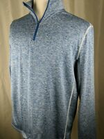 Tek-Gear Dry Tek Men's Large Active Dry Fit 1/4 zip Sweater Shirt Pullover